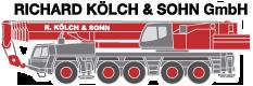 KÖLCH & SOHN GMBH Nürnberg/Fürth Autokran, Schwertransporte, LKW mit Ladekran, Minikran, Raupenbagger